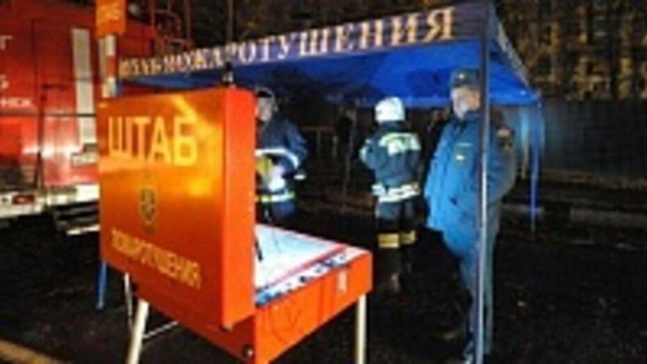 В Верхнехавском районе сгорел мясокомбинат
