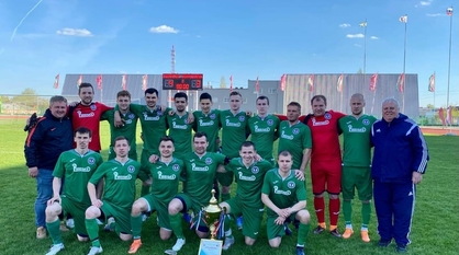 Рамонское «Торпедо» впервые выиграло Суперкубок Воронежской области по футболу