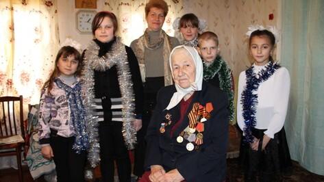 Защитница Воронежа из Петропавловского района отметила 90-летний юбилей
