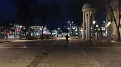 Несанкционированный митинг в Воронеже завершился