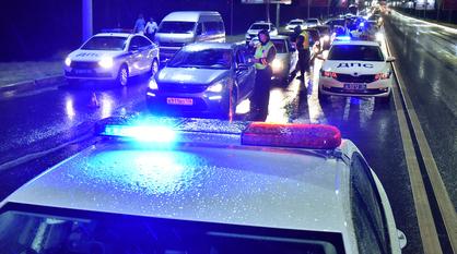 В праздничные дни полицейские устроят охоту на пьяных водителей в Воронеже
