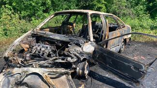 Двух мальчиков госпитализировали после ДТП со сгоревшим Volkswagen в Воронежской области