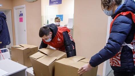 Волонтеры доставят подарки детям воронежских медиков, борющихся с коронавирусом