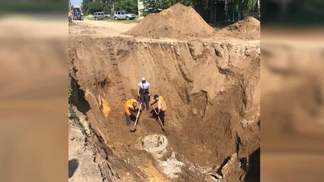 В воронежском райцентре 33 тыс человек остались без воды из-за коммунальной аварии