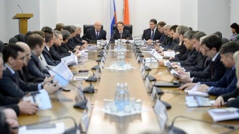 Губернатор обсудил с депутатами Воронежской облдумы будущее региона
