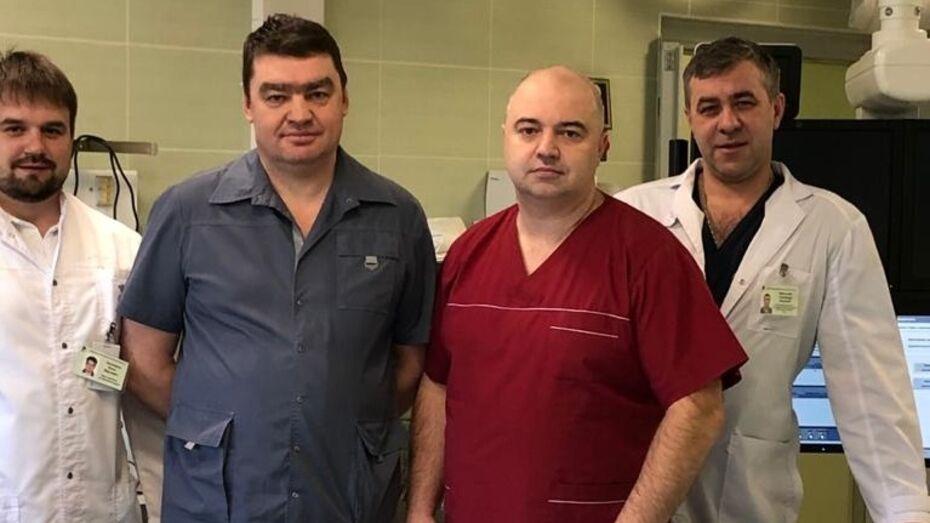 Воронежские врачи спасли от смерти женщину с разрывом аневризмы грудного отдела аорты
