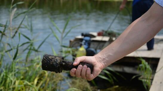 Гранату обнаружили на дне реки Тихая Сосна в Острогожском районе