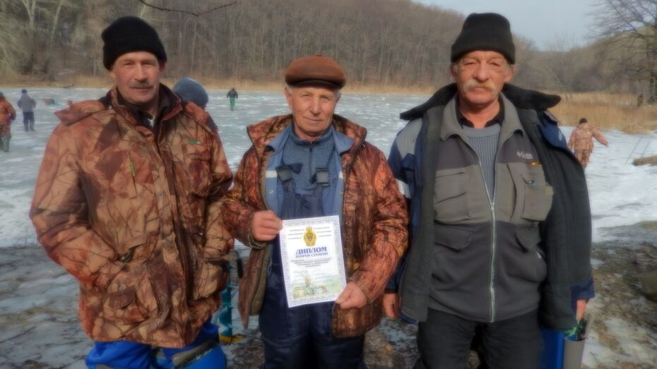 В Подгоренском районе прошли соревнования по зимней рыбалке