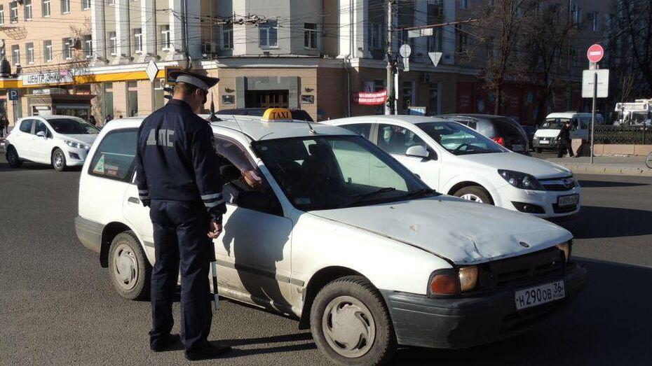 Воронежские таксисты проведут массовую акцию за повышение тарифов