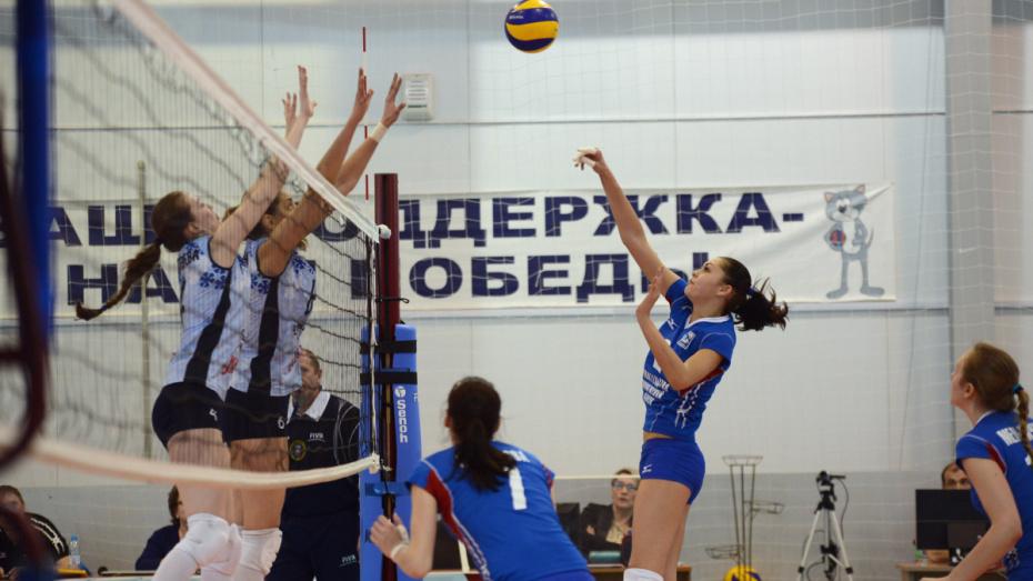 Волейбольный «Воронеж» дважды выиграл у «Обнинска» в гостях