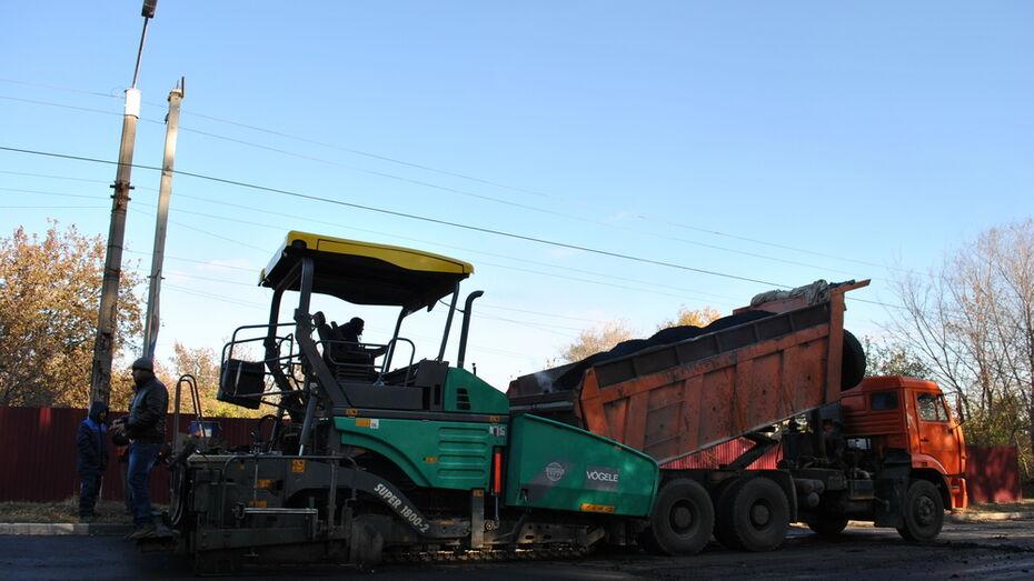 В Лискинском районе капитально отремонтировали дорогу «Лиски – Нижний Икорец»