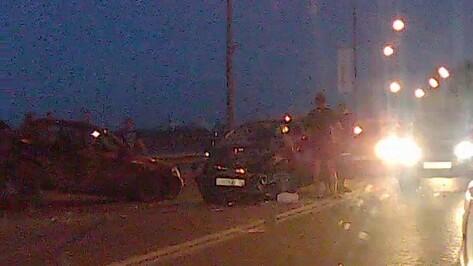 Воронежец погиб при столкновении Opel и «Лады» на Набережной Массалитинова