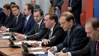 Дмитрий Медведев в Воронеже призвал сократить долю импортного сырья в химпромышленности