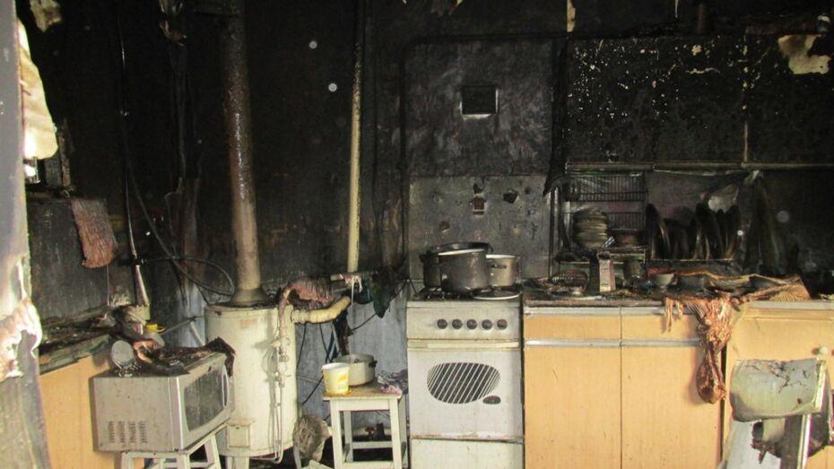 В Воронежской области мужчина погиб на пожаре из-за непотушенной сигареты