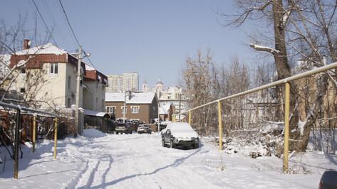 В Воронеже власти предложили не отступать минимальное расстояние между частными домами