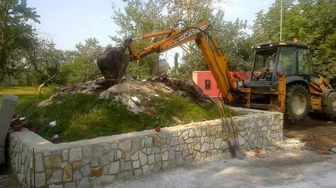 В семилукской Девице на месте старого холма Славы появится площадь Памяти