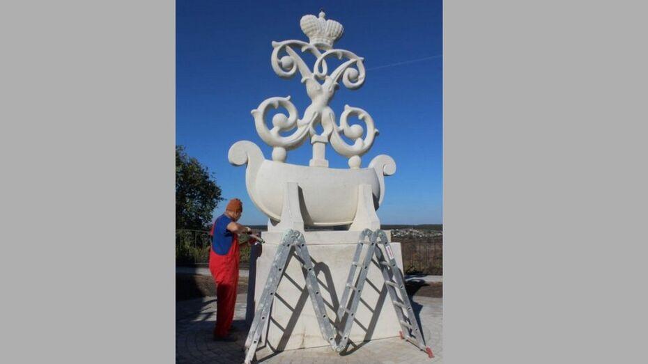 Памятный знак флота Петра I установили в острогожском селе Коротояк