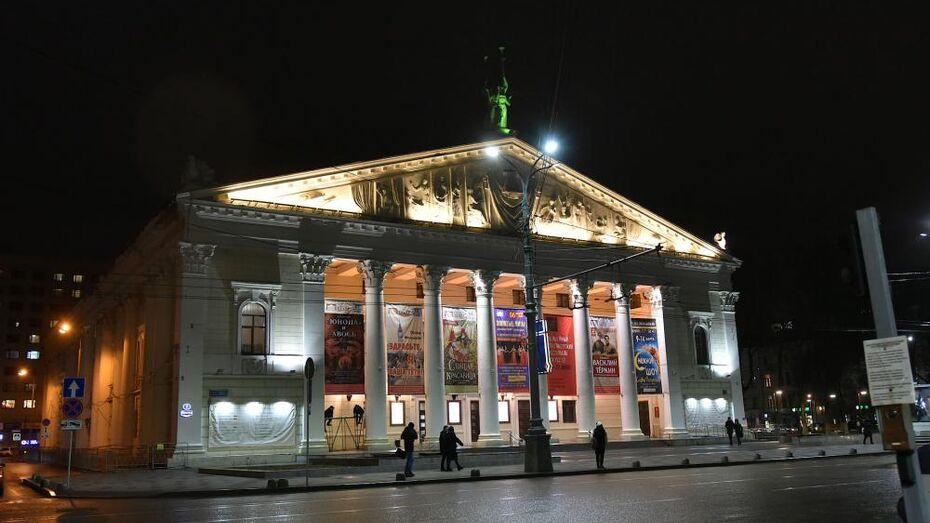 Все спектакли на 3 недели отменил Воронежский театр оперы и балета