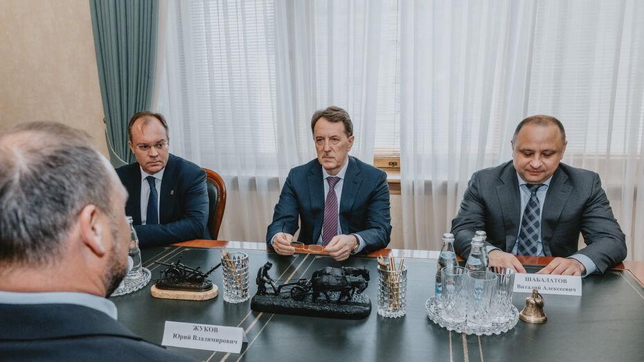 Участие бизнеса в воронежских соцпроектах обсудили на встрече с вице-спикером Госдумы