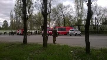 В Воронеже спасатели потушили цистерну со сжиженным газом на заправке