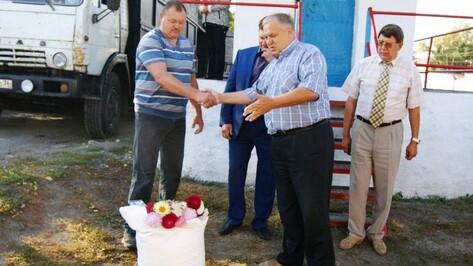 В Аннинском районе начали приемку и переработку свеклы