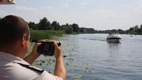 На водоемах Воронежской области спасатели ловят нарушителей при помощи радаров