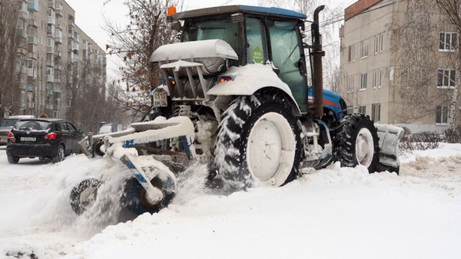 В Воронеже дополнительно закупят технику для вывоза снега на 130 млн рублей