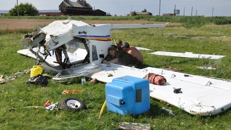 В Эртильском районе разбился легкомоторный двухместный самолет