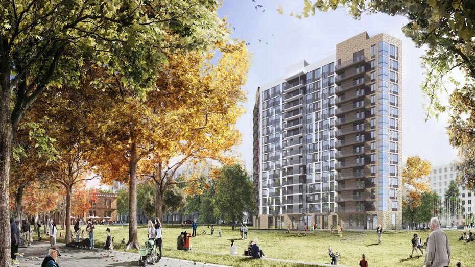 В Воронеже на улице Остужева построят новый жилой комплекс