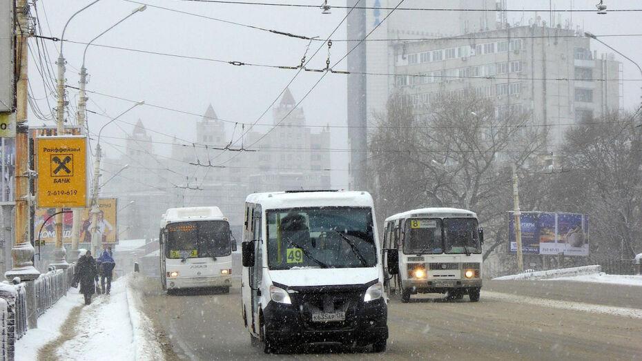 Воронежские инспекторы ДПС за неделю выявили 60 нарушений ПДД водителями маршруток