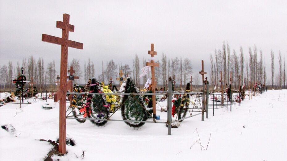 В Воронежской области пенсионерка осквернила могилу бывшего возлюбленного