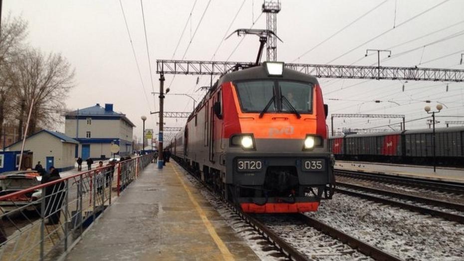 Проезд в воронежских электричках подорожает с 1 января