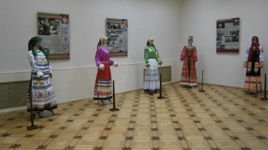 В Воронежской области показали костюмы певицы Марии Мордасовой