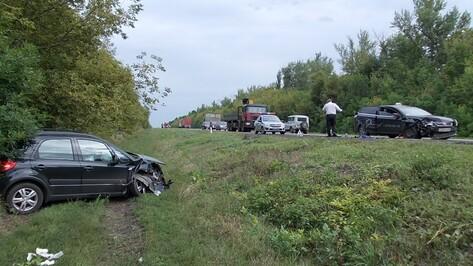 В Воронежской области столкнулись Suzuki и Ford: пострадали 6 человек