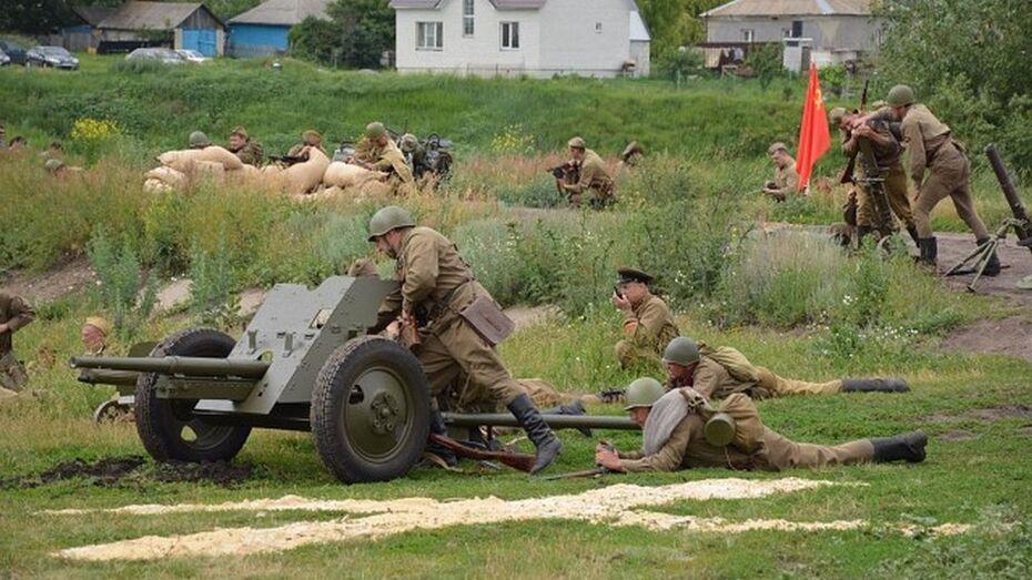В Каширском районе прошла военно-историческая реконструкция «Каширский рубеж»