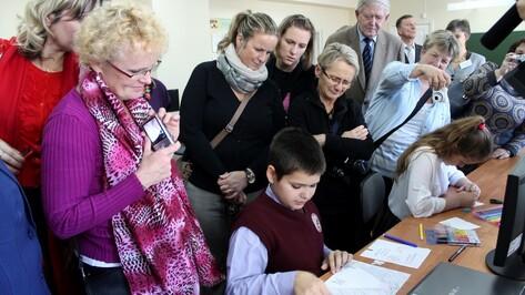 Хохольский район посетили педагоги из Чехии