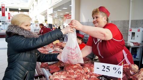 В Воронеже на Центральном рынке на четверть подешевело мясо