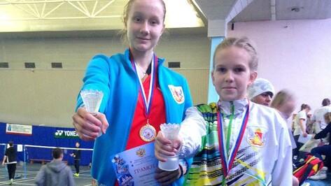 Спортсмены Воронежской области взяли 17 медалей на всероссийском турнире по бадминтону