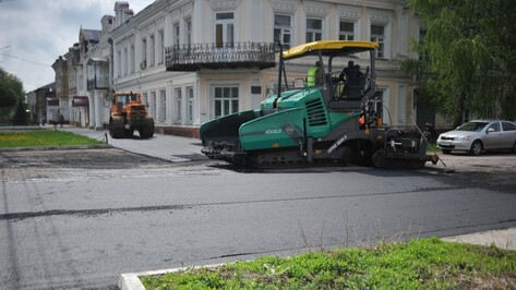 В Борисоглебске определили дороги для ремонта на средства облбюджета