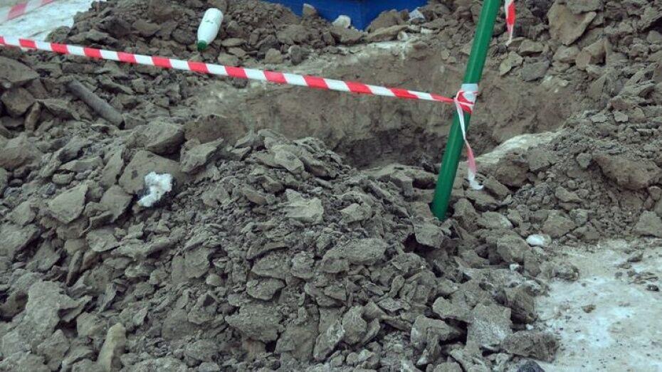 Под Воронежем при прокладке водопровода погиб 57-летний рабочий