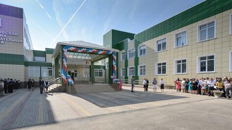 Строители успеют сдать новые воронежские школы к Дню знаний