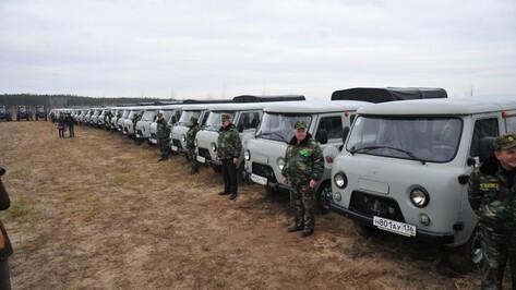 Лесопожарные Воронежской области получили более 200 единиц новой техники в 2017 году