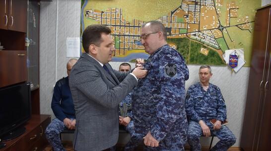 Павловчанина наградили памятным знаком «За участие в Панджшерской операции»
