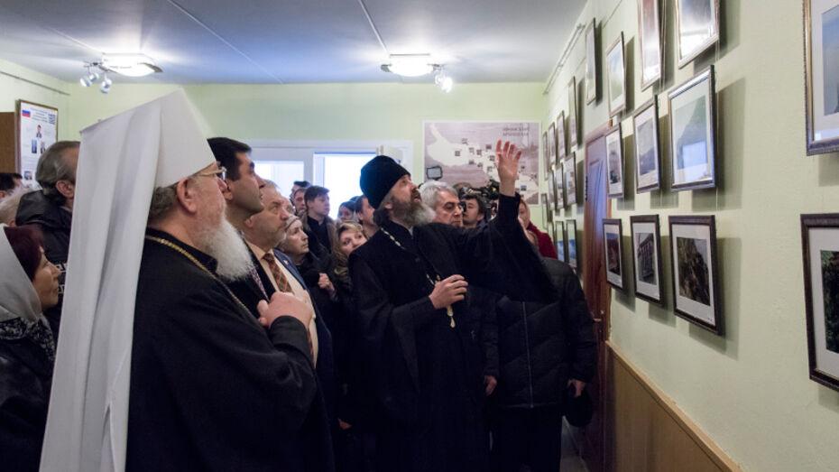В Воронеже открылась фотовыставка «Гора Афон, Гора святая»