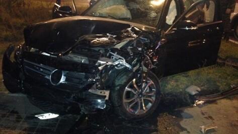 Погубивший воронежца водитель Mercedes-Benz ехал 100 км в час