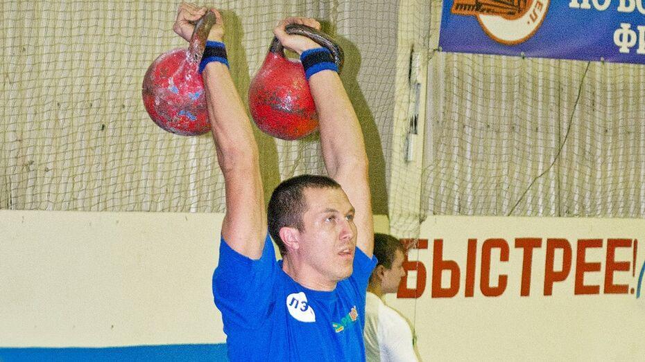 Лискинский гирьевик завоевал «золото» на чемпионате области