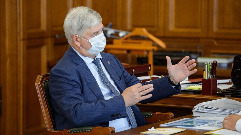 Воронежский губернатор поручил обеспечить транспортом новые школы в Новоусманском районе