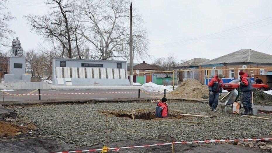 Памятные стелы появятся в воронежских населенных пунктах воинской доблести к 1 мая