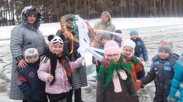 В районах Воронежской области отмечают Масленицу