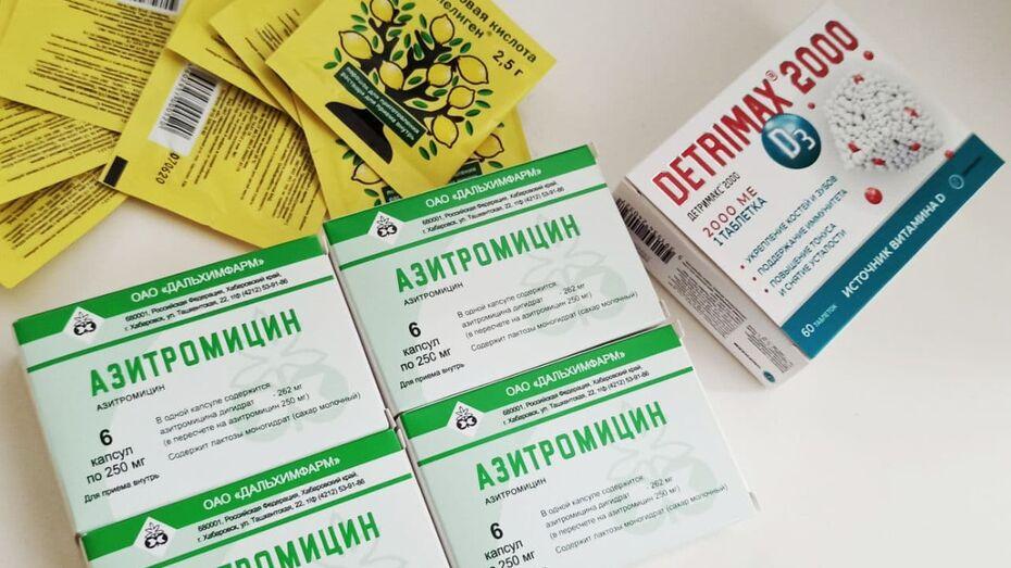 За неделю бесплатные медикаменты получили 5,5 тыс воронежцев с ковидом